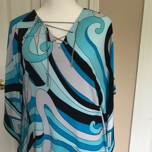 Michael kors flowing tunic top